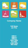 Party Planner Business Card Template